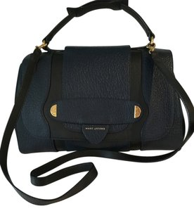 Marc Jacobs Satchel in blue and black