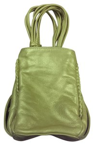Susan Farber Collections Green-gold Clutch