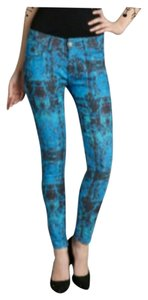 Romeo & Juliet Couture Print Skinny Jeans