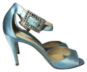 Manolo Blahnik Blue Formal