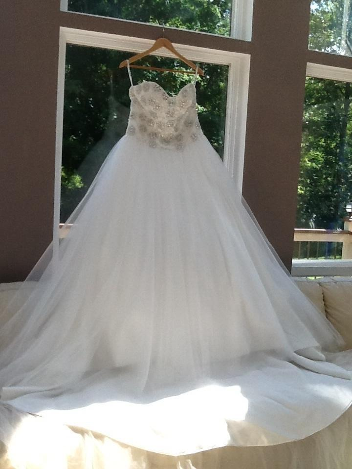 Allure Couture C244 Look A Like Princess Ballroom Gown Wedding Dress