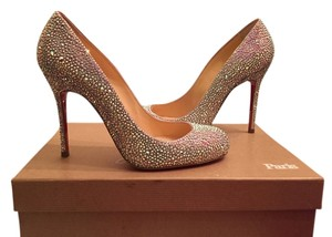 Christian Louboutin Sparkle Strass Pumps
