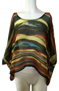 Jessica Simpson Top Multi color