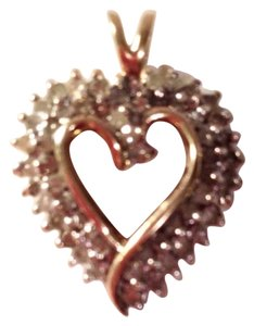 Other Diamond 14kt Heart Pendant