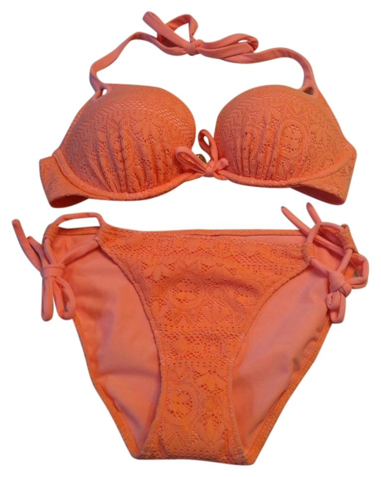 4e7bb12afe Victoria s Secret Bombshell Bra Top - Adds 2 Cup Sizes + Double String  Bikini Image 0 ...