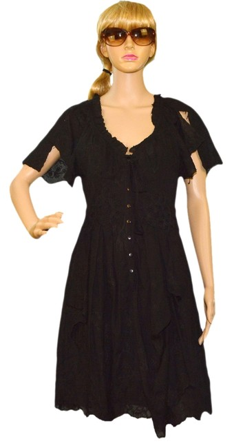 Preload https://item1.tradesy.com/images/nanette-lepore-black-cotton-above-knee-casual-maxi-dress-size-6-s-1011965-0-0.jpg?width=400&height=650