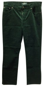 Ralph Lauren Corduroy Casual Work Trouser Pants Green