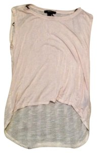 Forever 21 Polyester Top Cream