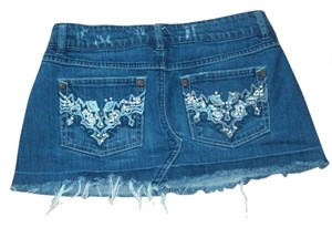 Squueze 13/14 12 13 14 Mini Skirt Denim