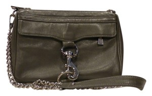 Rebecca Minkoff Chain Leather Accents Cross Body Bag