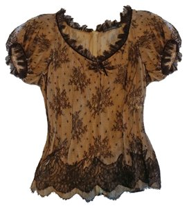 Alexander McQueen Top Brown