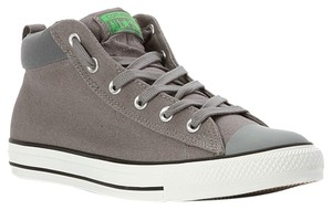 Converse Hightop Canvas Sneakers Grey Athletic