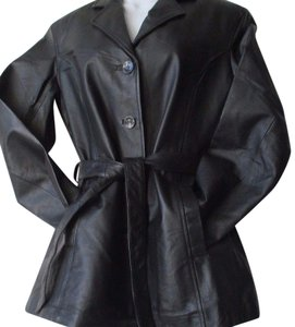 Xl Leather New Used Coat