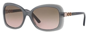 BVLGARI BVLGARI 8144 504/13 TRANSPARENT GREY W/VIOLET GRADIENT SUNGLASSES