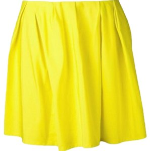 Thakoon Addition Mini Skirt Yellow