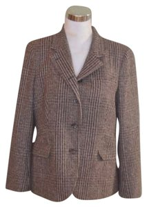 Luciano Barbera Jacket Tweed 12 Cashmere Camel Brown Blazer