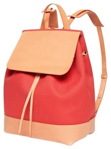 Mansur Gavriel Canvas Italy Leather Backpack
