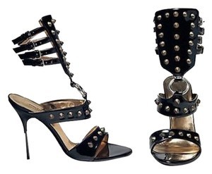 Dolce&Gabbana Dolce And Gabbana Gladiator Heels Dolce And Gabbana Gladiator Stilettos Dolce And Gabbana Spike Heels Stiletto Heels And Black Sandals