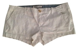 Abercrombie & Fitch Short Dress Shorts White