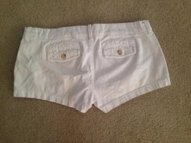 Abercrombie & Fitch Dress Shorts White