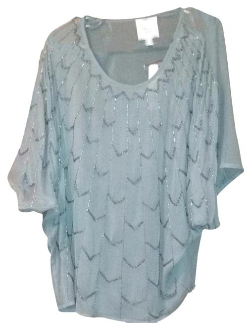 Romeo & Juliet Couture Top Silver/grey