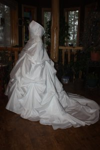 David's Bridal Ball Gown Wedding Dress