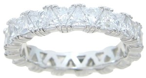 2.75 Ct Trillion Cut Anniversary - Eternity Band * Absolutely Gorgeous * Size 5 6 7 8 9 *
