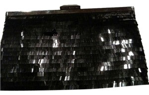 Rachel Roy Black sequins Clutch