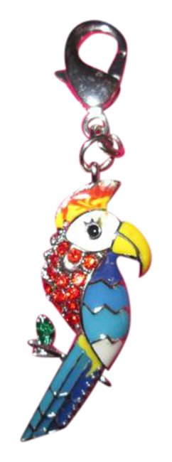 Juicy Couture Blue Red Yellow Rare Bird. Nwot Charm Juicy Couture Blue Red Yellow Rare Bird. Nwot Charm Image 1