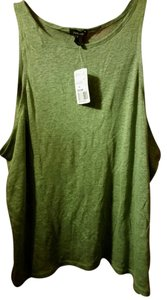 Forever 21 Top light dark green