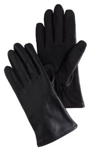 J.Crew FACTORY FAUX-LEATHER TECH GLOVES