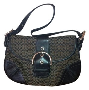Coach Jacquard Leather Soho J04w-6818 Hobo Bag