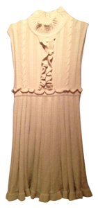 Jessica Simpson short dress beige Flowy Knit on Tradesy
