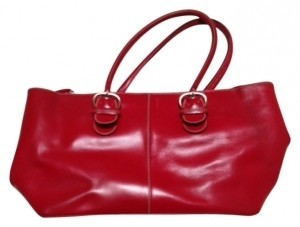 Nannini Tote in Red