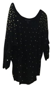 Marc by Marc Jacobs Top Black with Gold
