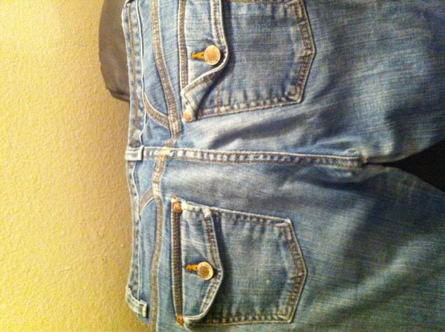 Banana Republic Boot Cut Jeans-Distressed