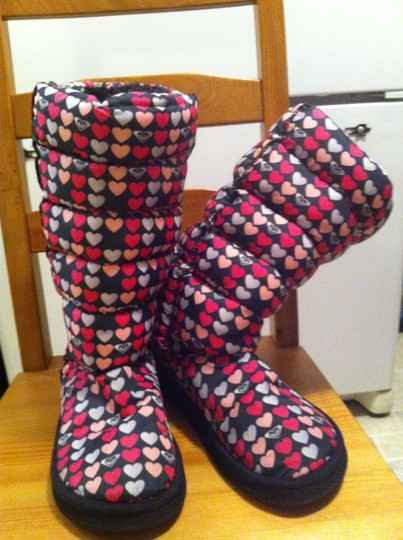 Roxy Dark pink, light pink, black Boots
