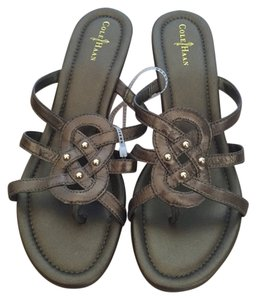 Cole Haan Bronze Sandals