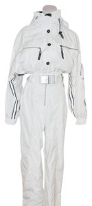 Bogner BOGNER WHITE WOMEN SKI POLYESTER COSTUME OVERALL WARM WINDPROOF