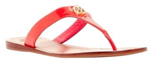 Tory Burch Miller Reva Cameron Thong Python Navy Black Pink Fluo pink Sandals