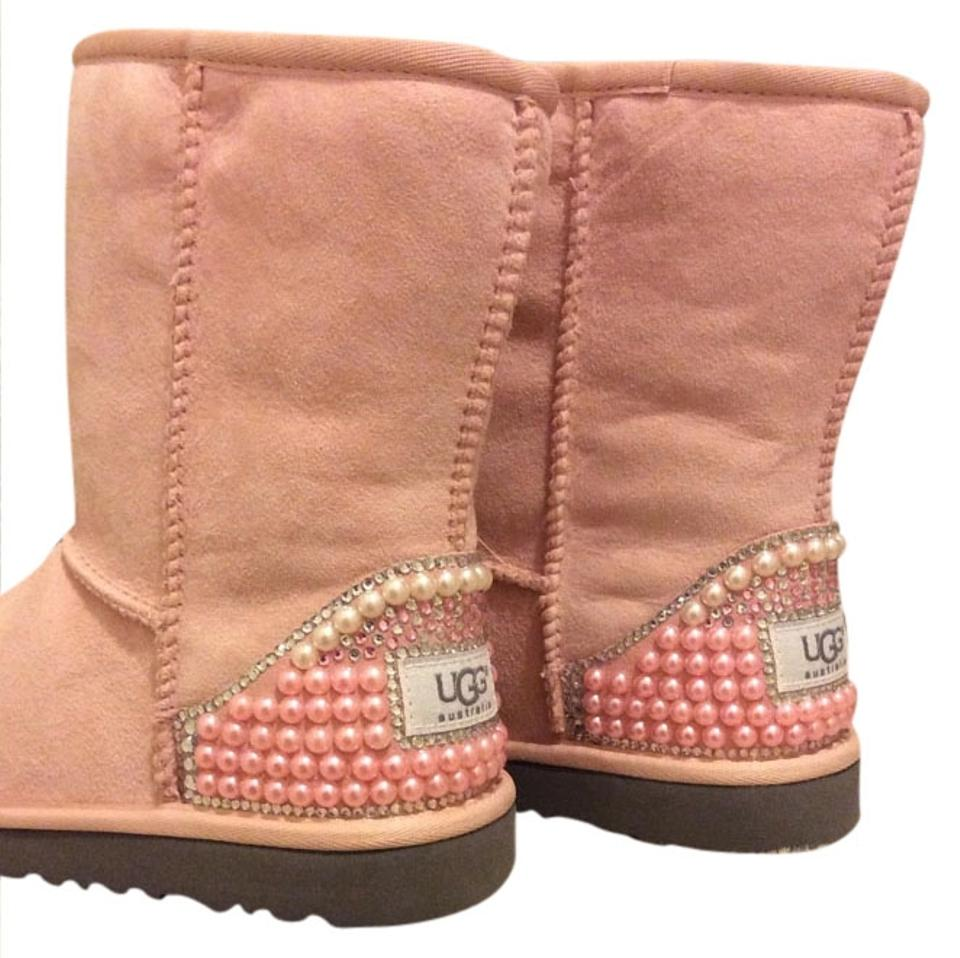 pink pearl uggs. Black Bedroom Furniture Sets. Home Design Ideas