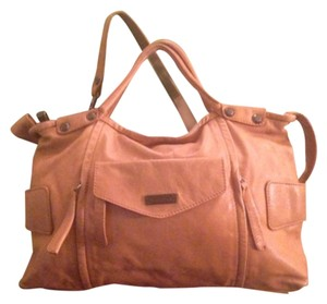 NICOLI Satchel in tannish yelllow