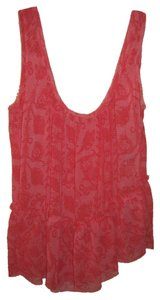 Rachel Roy Summery Flattering Top Red/Dark Pink