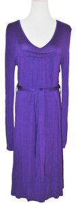 Escada short dress purple on Tradesy