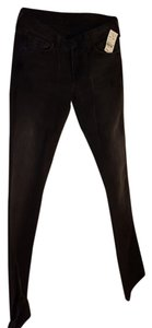7 For All Mankind Seven Barney's New York Skinny Jeans-Dark Rinse