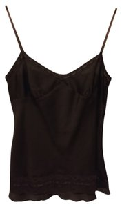 Ann Taylor LOFT Top Dark Brown