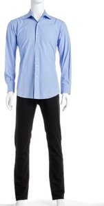 David August David August Blue Button Down Men's Shirt (size 59)