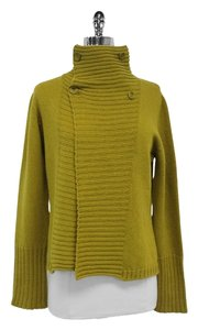 Max Mara Lime Green Wool Cashmere Sweater