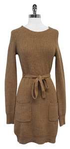 BCBGMAXAZRIA short dress Toffee Sweater on Tradesy