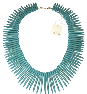 Barneys New York Turquoise Bib necklace